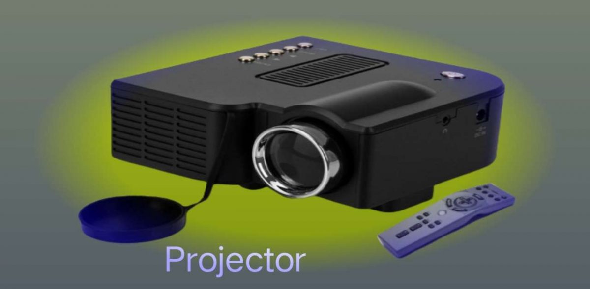 प्रोजेक्टर Projector an output device